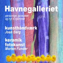 Soloudstilling i Havnegalleriet i Dragør 2018
