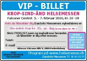 VIP-billet jpg KROP-SIND-ÅND Helsemesse i Falconer Centret 2015